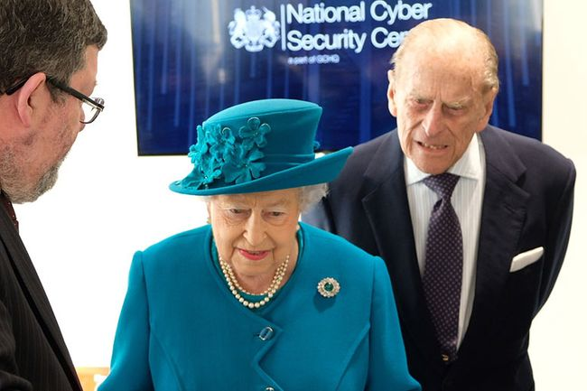 Image of Her Majesty the Queen and the Duke of Edinburgh at the opening of Nova South in 2017