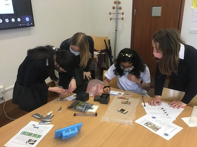 Image of Highgate School team, CyberFirst Girls Competition 2021 champions