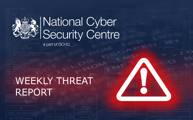 Weekly Threat Report 23rd August 2019